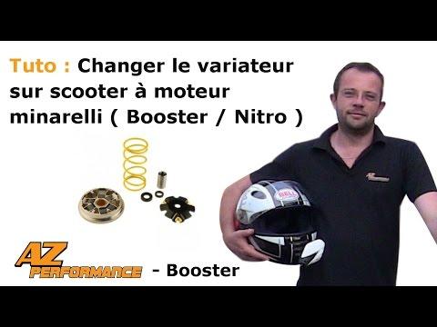 Changer le variateur de son Nitro / Aérox / Ovetto / ...