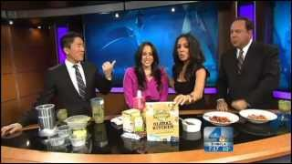 Carolyn Scott-Hamilton Cooks Healthy, Vegan Holiday Recipes on Today in NBC 4 LA