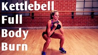 20 Minute Kettlebell Full Body Burn for Strength & Cardio by BodyFit By Amy