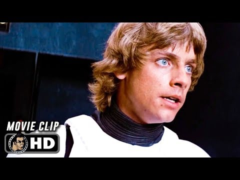 STAR WARS: A NEW HOPE Clip - Rescuing The Princess (1977) George Lucas
