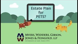Are there Estate Plans for Pets?