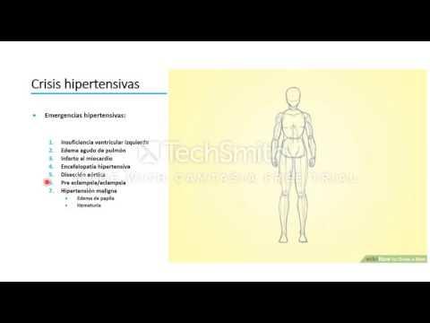 Hipertensión 3 grados de riesgo 4 cardíaca hipertensiva