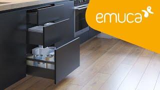 Jak zamontować szufladę Vertex o wyjątkowo smukłej konstrukcji z cichym domykiem