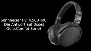 Sennheiser HD 4.50BTNC - Unboxing - Ersteindruck - MicaTech