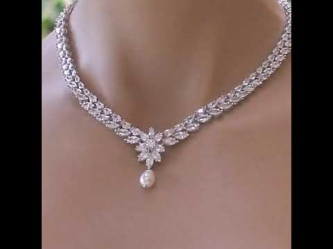 Most gorgeous and expensive diamond necklace designs ideas for girls/diamond neckwear ideas