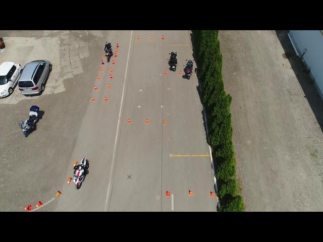 GombyMotor vezetéstechnikai tréning 2019 – drónvideó