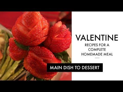 Valentines Day Recipes - Homemade Valentine Meal Idea   RadaCutlery.com