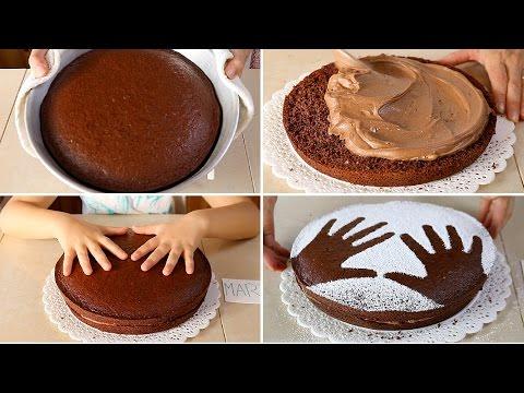 TORTA di COMPLEANNO al CIOCCOLATO per BAMBINI - Birthday Nutella Chocolate Cake easy recipe