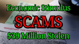 Economic Stimulus SCAMS | IRS ID Verification, EIP Cards, REP Payee