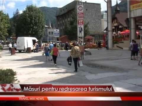 Masuri pentru redresarea turismului