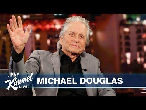 Michael Douglas on Wedding Anniversary, Father Kirk Douglas & Marvel Spoilers