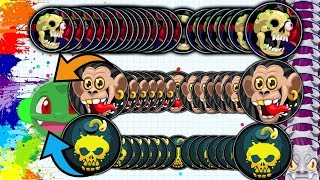 Agar.io LONGEST TRIPLE LINESPLIT IN LAST MAN STANDING!! ULTIMATE POPSPLIT BATTLE FAIL (Agario)