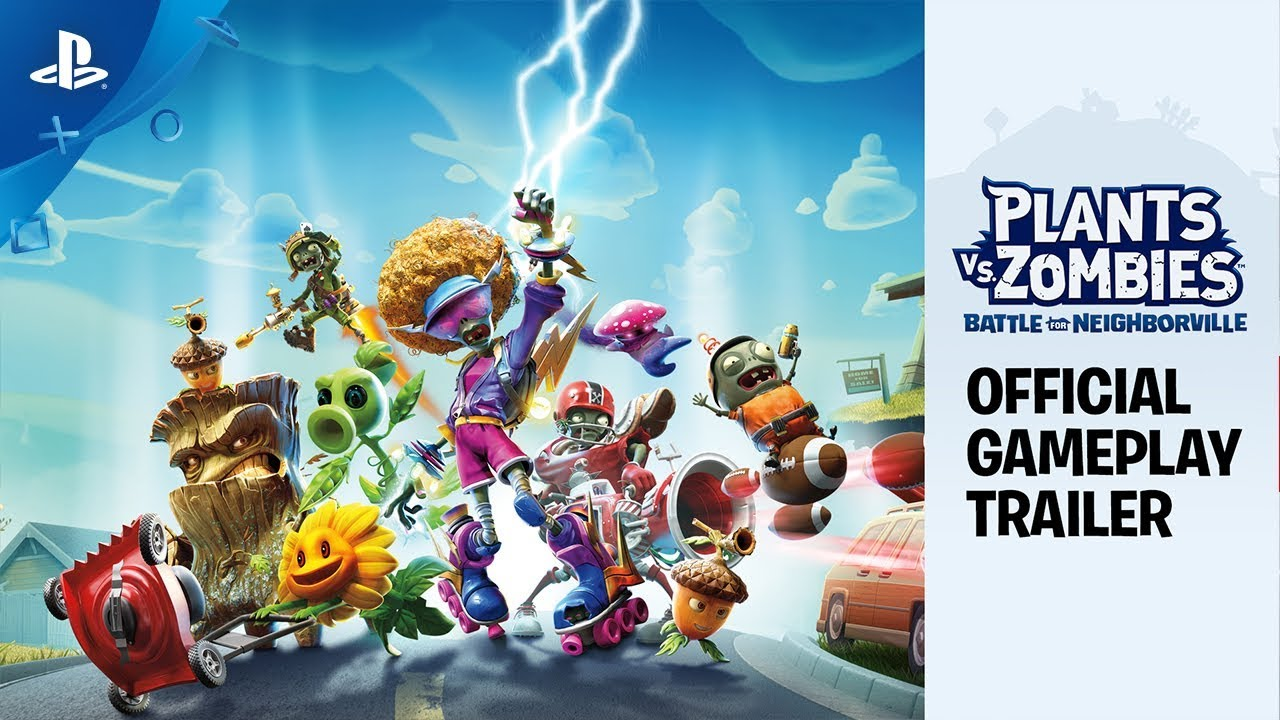 Диск Games Software Plants vs. Zombies: Battle for Neighborville (Blu-ray, English version) для PS4 (1036485) video preview