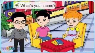 สื่อการเรียนการสอน What is your name ป.2 ภาษาอังกฤษ