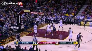 Indiana Pacers Vs Cleveland Cavaliers   Full Game Highlights   April 2, 2017   2016 17 NBA Season