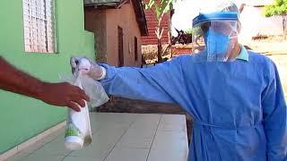 Novo Oriente do Piauí - Saúde - Entrega Kits de Higienização