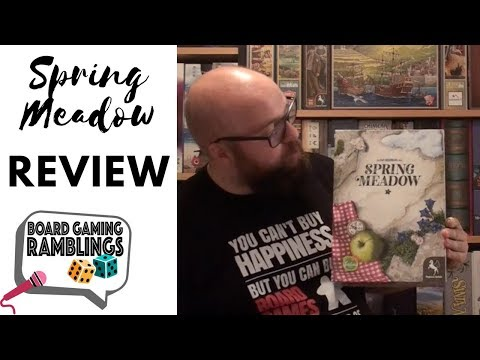 Board Gaming Ramblings: Spring Meadow Review