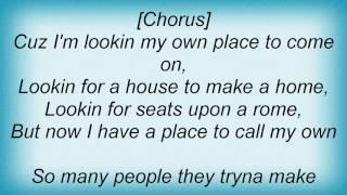 Alicia Keys - A Place Of My Own Lyrics