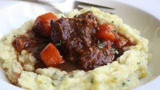 Beef & Guinness Stew - St. Patricks Day Special - Beef Stewed In Guinness Beer