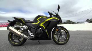 Honda CBR 300R Motorcycle Experience Road Test