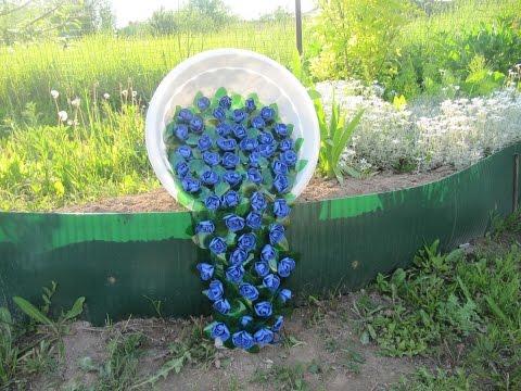 Необычные украшения для сада своими руками (100+…