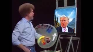 Bob Ross - Painting Trump Hair