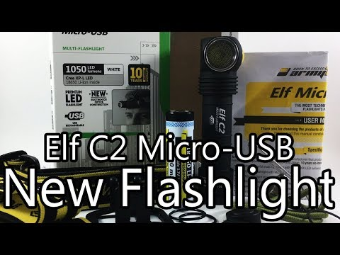 Armytek Elf C2 Micro-USB