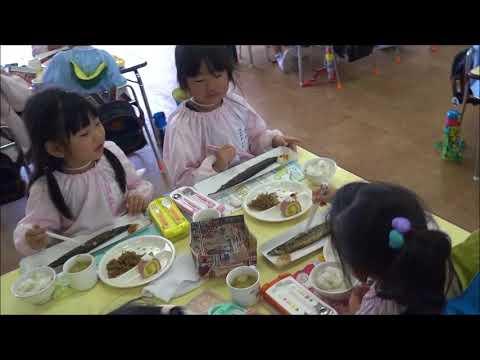 笠間 友部 ともべ幼稚園 子育て情報「さんまパーティー」