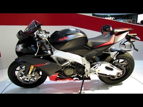 2014 Aprilia RSV4 Factory APRC ABS Walkaround - 2013 EICMA Milan Motorcycle Exhibition