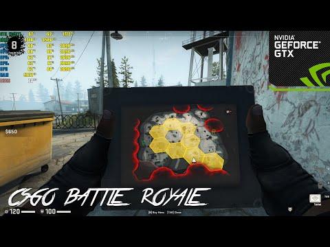 CSGO : Battle Royale | GTX 1050TI 4GB | Low Settings | 1080p