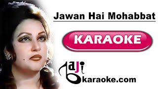 Jawan Hai Mohabbat | Video Karaoke Lyrics   - YouTube