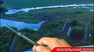 Выявлены нарушения в деятельности Кайбицкого рыбхоза: предприятие построило плотину на местной реке