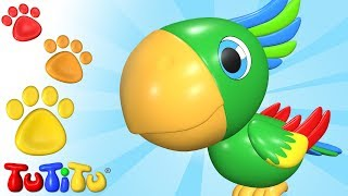 TuTiTu Animals | Animal Toys for Children | Parrot and Friends