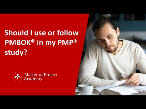Should I use PMBOK® in my PMP® study? - YouTube