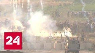 ХАМАС обещает привести миллион палестинцев к границе с Израилем - Россия 24