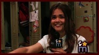 Maia Mitchell Accent Challenge - The Fosters Season 2 Interview