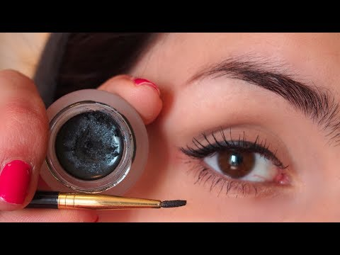 How To Apply Gel Eyeliner! Brushes, Tips and More!