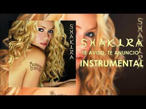 Shakira-Te Aviso, Te Anuncio (Official Instrumental)