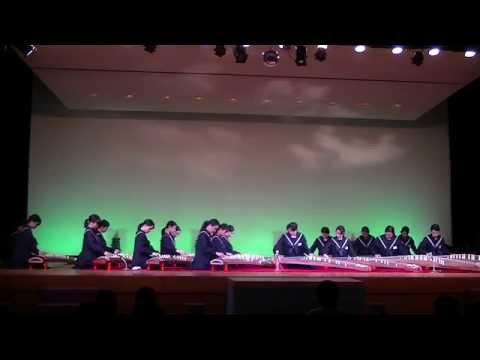 箏四重奏まほら 箱崎清松中学校 箏曲部