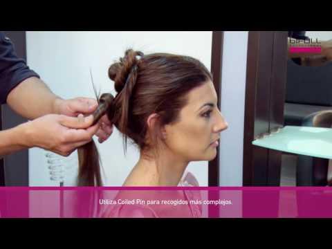 Bifull - Pasador de pelo en espiral Coiled Pin
