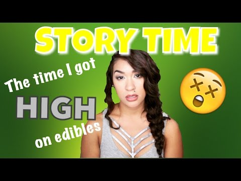 STORY TIME: The time I got HIGH on edibles | Nikki Glamour