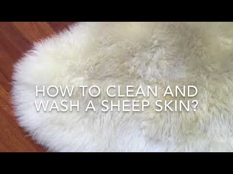 , title : 'Easy! How to clean and wash a sheepskin