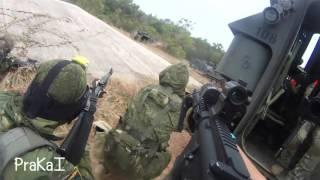 [ Airsoft milsim ] ยุธการจรสิห์พิฆาติ3 EBairosft Team part1 - dooclip.me