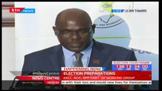 IEBC Chairman-Wafula Chebukati reads their resolutions for the general elections in August