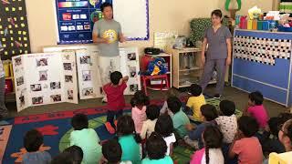 We love teaching kids about dental health!