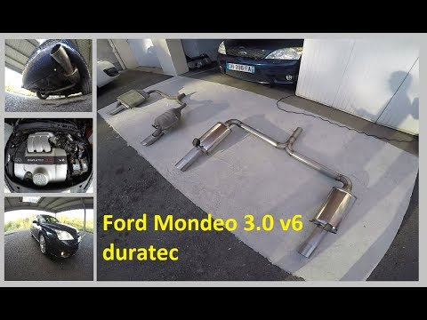 Suppression silencieux arrière Ford Mondeo 3.0 V6 Duratec