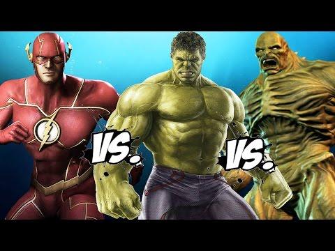 THE FLASH vs HULK vs ABOMINATION - Epic Battle