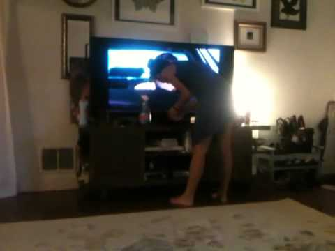 Dichen Lachman's fitness video