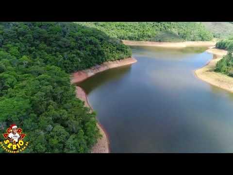 Represa de Juquitiba está secando , O nível está anormalmente baixo para essa época do ano.