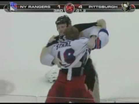 Adam Hall vs. Marc Staal